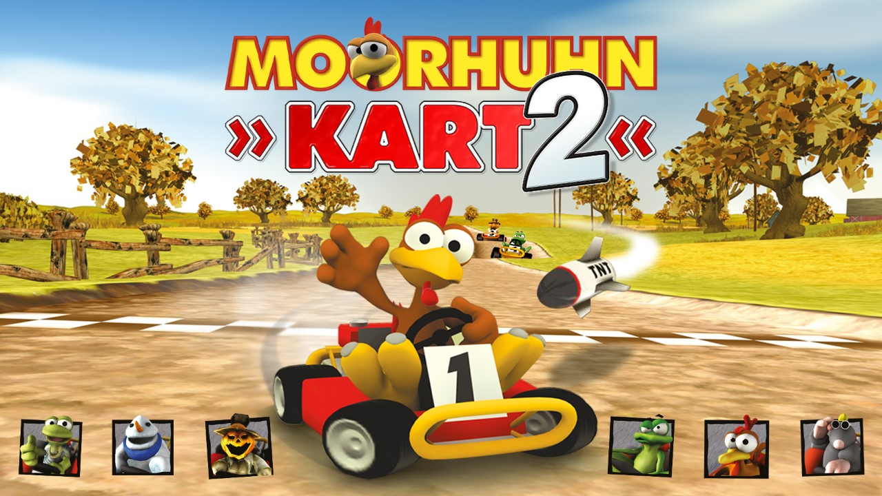 Moorhuhn Kart 2 Nintendo Switch