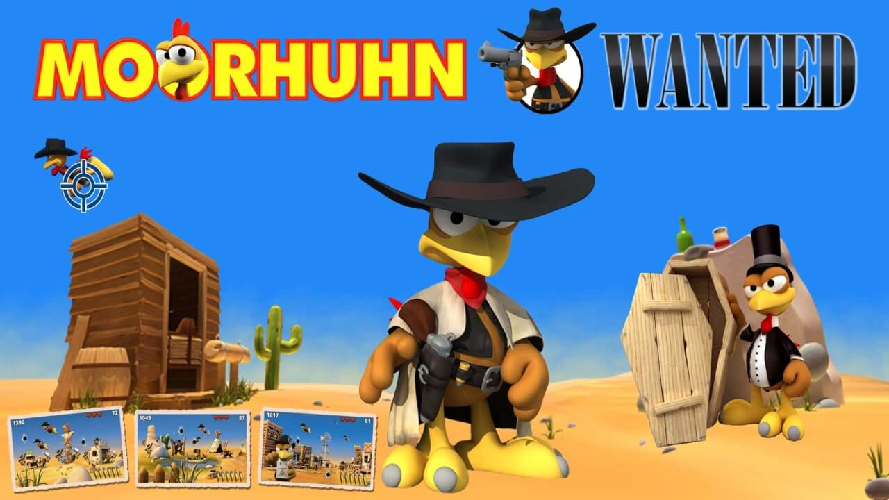 Moorhuhn Wanted for Nintendo Switch